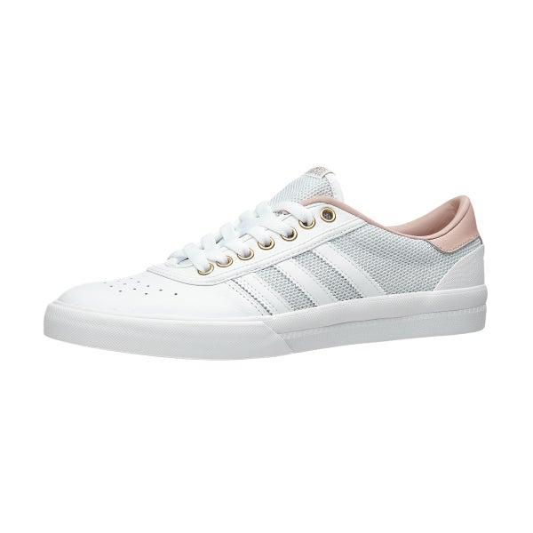 Adidas Lucas Premiere Schuhe Weiß / Pfirsich / Gold 360 Ansicht