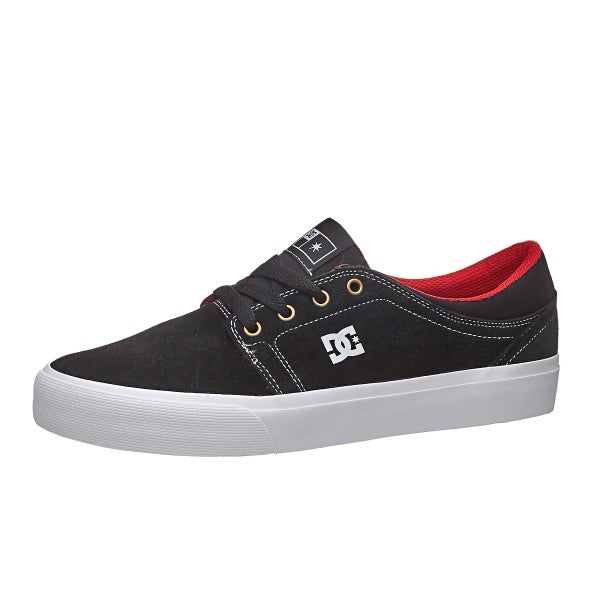 DC Trase S Shoes Black/White/True Red.