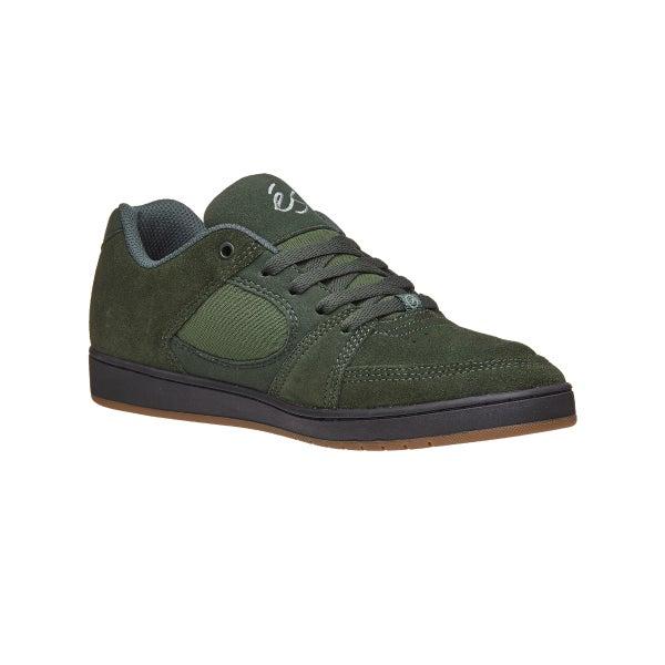 d7ea42ee4c3c2c Es Accel Slim Shoes Hunter Green 360 View
