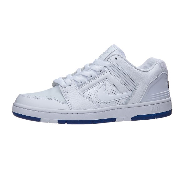 Nike SB Air Force II Low KB Wht QS scarpe bianca Wht KB blu 360 View 9c8f32