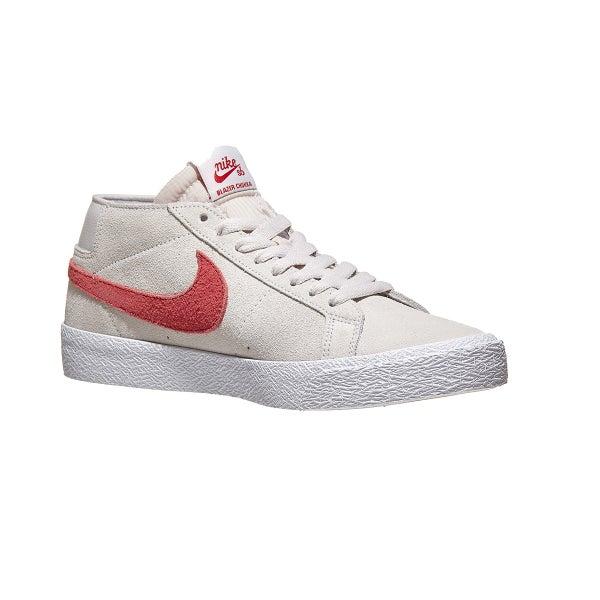 27f99937934f Nike SB Blazer Chukka Shoes Vast Grey Crimson 360 View