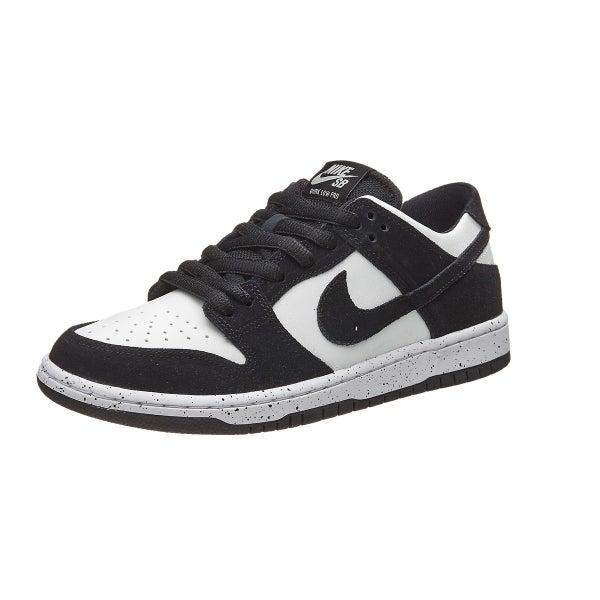 best cheap adb0b f9833 Nike SB Dunk Low Pro Shoes Black-Barely Green-Wht 360 View