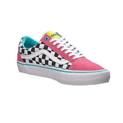 09f73409dfc1ec Vans x Golf Wang Old Skool Pro Shoes Blue Pink White 360 View