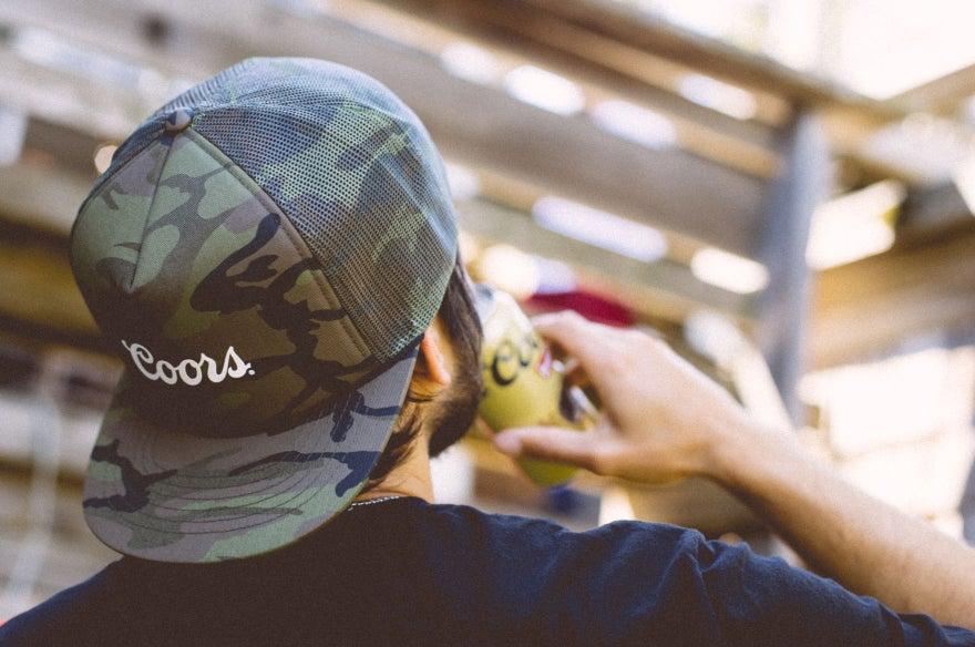 463318fc629f99 ... good brixton x coors signature mesh hat spotlight img 9ac07 3815f