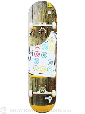 3D Telephone Pole Deck 8.0 x 31.875