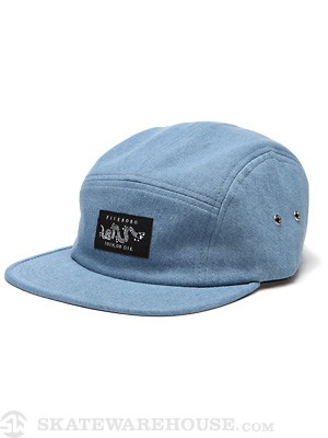 5boro Join or Die 5 Panel Hat Indigo Adjust