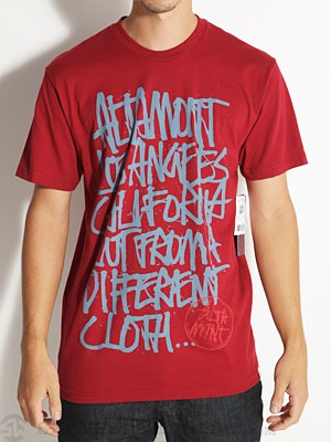 Altamont Approved Tee Oxblood MD