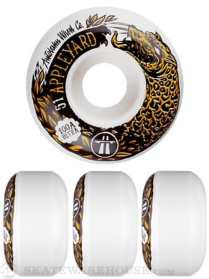 Autobahn Appleyard x Swanski 100a Wheels 51mm