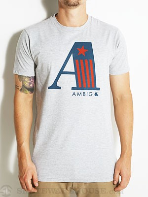Ambig A Team Tee Heather Grey SM