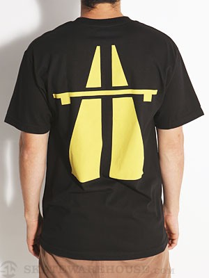 Autobahn Big Road Tee Black LG