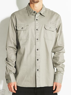 Ambig Bennett Overshirt Green MD