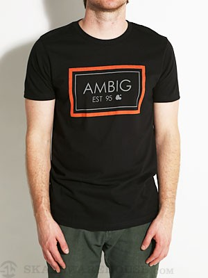 Ambig Box Tee Black SM
