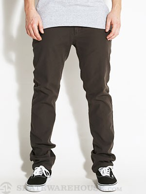 Ambig Doolittle Slim Twill Pants Lt. Black 28