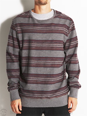 Ambig Fowler Crew Sweatshirt Heather Grey SM