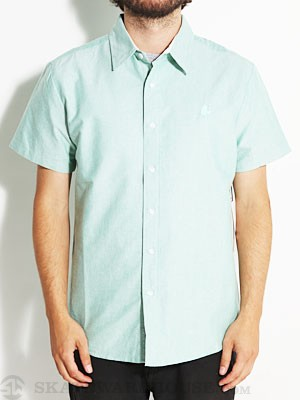 Ambig Gabe Oxford Woven Shirt Green XL