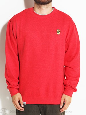 Autobahn GTO Crew Sweatshirt Red MD
