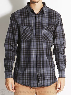 Ambig Homer Flannel Shirt Blue XL