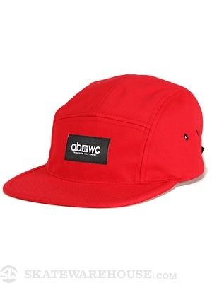 Autobahn Idiom 5 Panel Hat Red Adjust