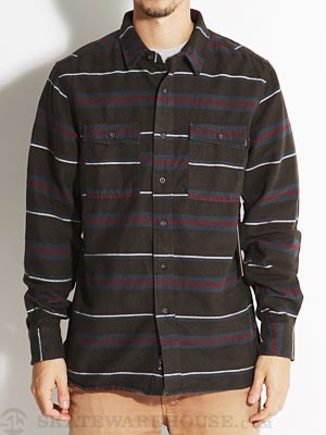 Ambig Jones Flannel Shirt Navy XXL