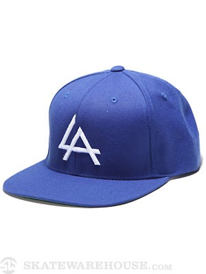 Ambig El A Snapback Hat Royal Adjust