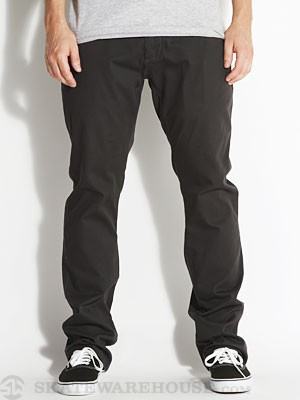 Ambig Leroy Straight Chino Pants Black 30