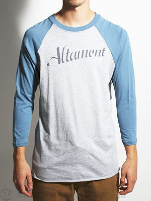 Altamont Modern League Raglan Heather Grey SM