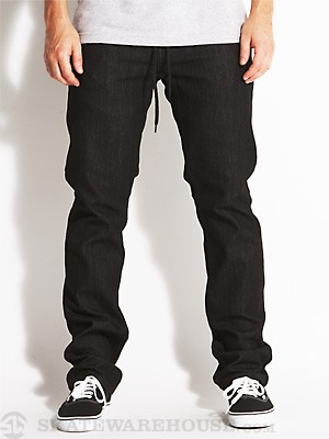 Ambig Nuts & Bolts Straight Jeans Black 30