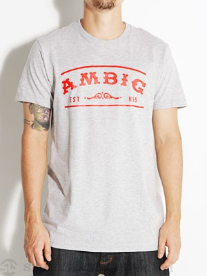 Ambig San Clemente Tee Heather Grey XL