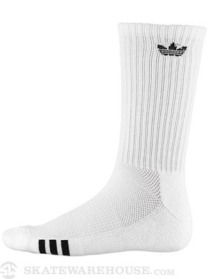 Adidas 3-Stripes Crew Socks White/Black