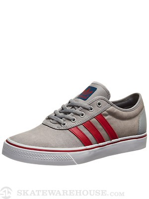 Adidas Adi Ease Shoes  Grey/Nomad Red/Uniform Blue
