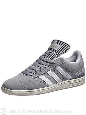 Adidas Busenitz Pro Shoes  Grey/White/Ecru