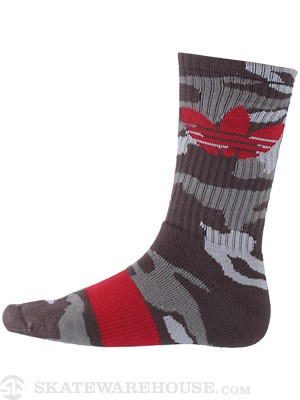 Adidas Originals Camo Trefoil Socks Urban Trail Camo