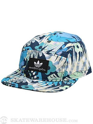 Adidas Gonz 5 Panel Hat Hawaiian