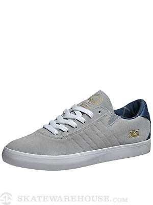 Adidas Gonz Pro Shoes  Grey/Uniform Blue/White