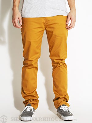 Davis Slim Chino Pants Copper 28