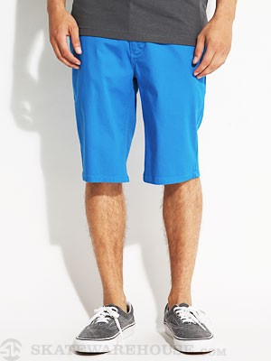 Davis Slim Chino Shorts Blue 30
