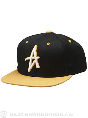 Altamont Decades Starter Hat Black/Brown Adj.