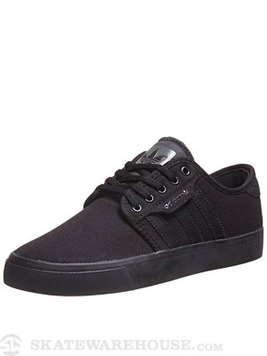 Adidas Kids Seeley Shoes  Black/Black/Cinder