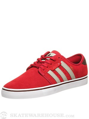 Adidas Seeley Pro Lucas Shoes Red/Sesame