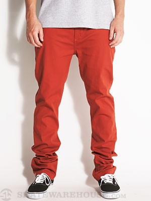 Altamont Davis Slim Chino Pants Rust 30