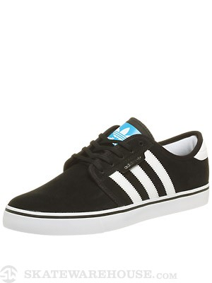 Adidas Seeley Shoes Black/White/Pool