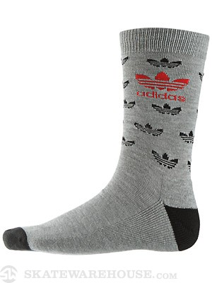 Adidas Originals Mini Trefoil Socks Heather Grey