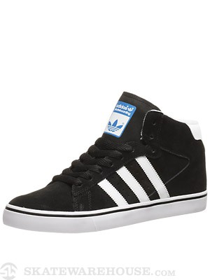 Adidas Campus Vulc Mid Shoes  Black/White/Bluebird