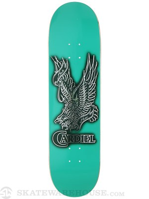 Anti Hero Cardiel Wright Eagle Green Deck  8.38 x 32.56