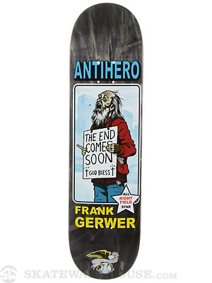 Anti Hero Gerwer Vagrant All Stars Deck  8.12 x 31.25