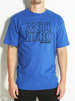Anti Hero Outline Hero Tee Royal SM