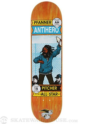 Anti Hero Pfanner Vagrant All Stars Deck  8.18 x 31.84