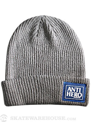 Anti Hero Reserve Cuff Beanie Charcoal One Size