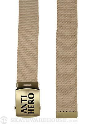 Anti Hero Stencil Hero Belt Khaki Adj.