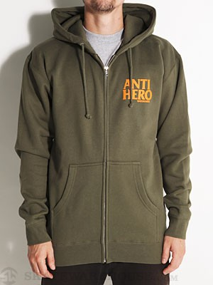 Anti Hero Safety Hero Hoodie Military SM